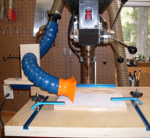 Dust Collection Drill Press