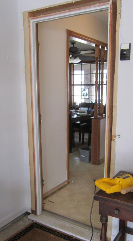 Foyer Window Unit : Rear foyer project
